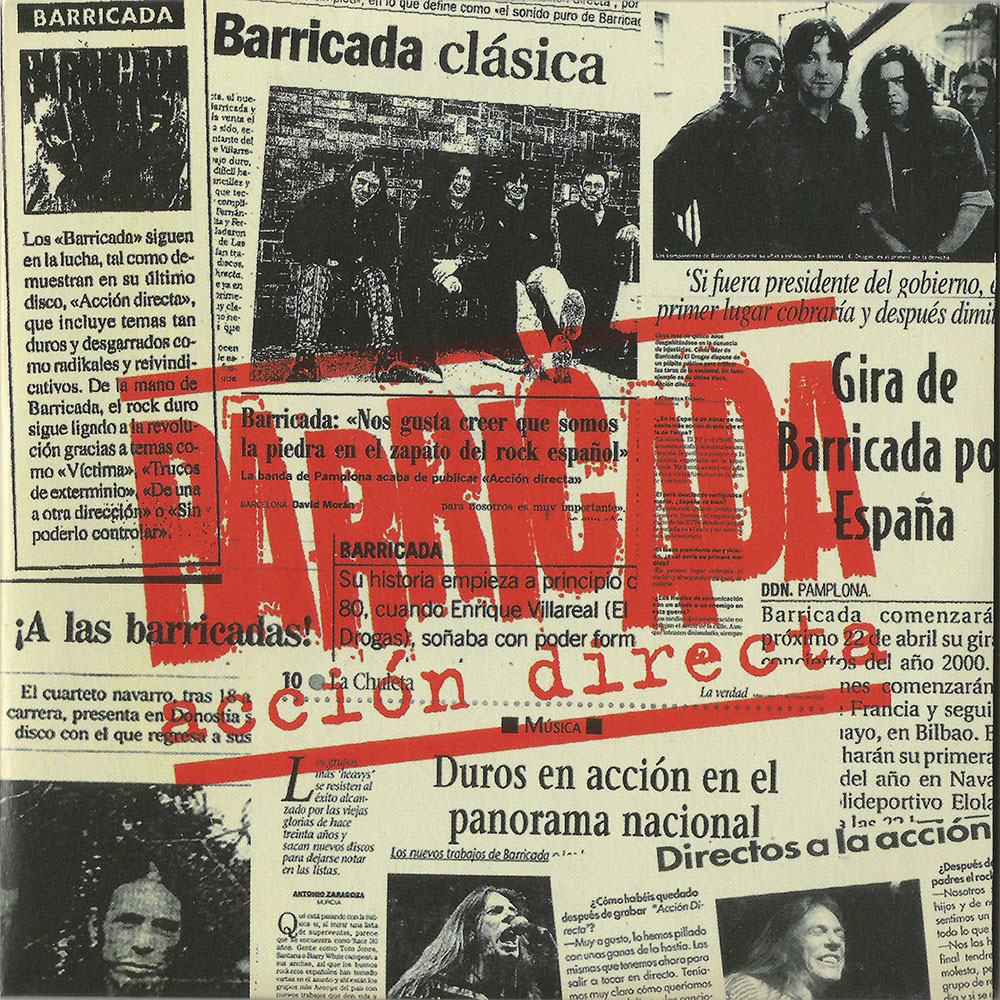 Barricada Single Acción Directa