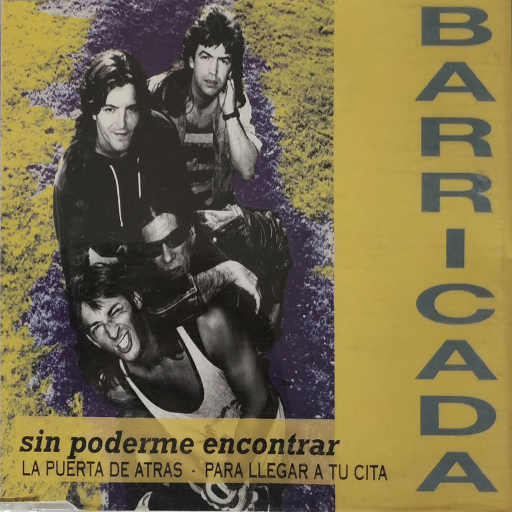 Barricada Single Sin poderme encontrar